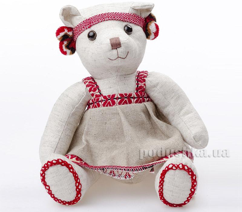 Мягкая игрушка Медвежонок Маруся Левеня К283М