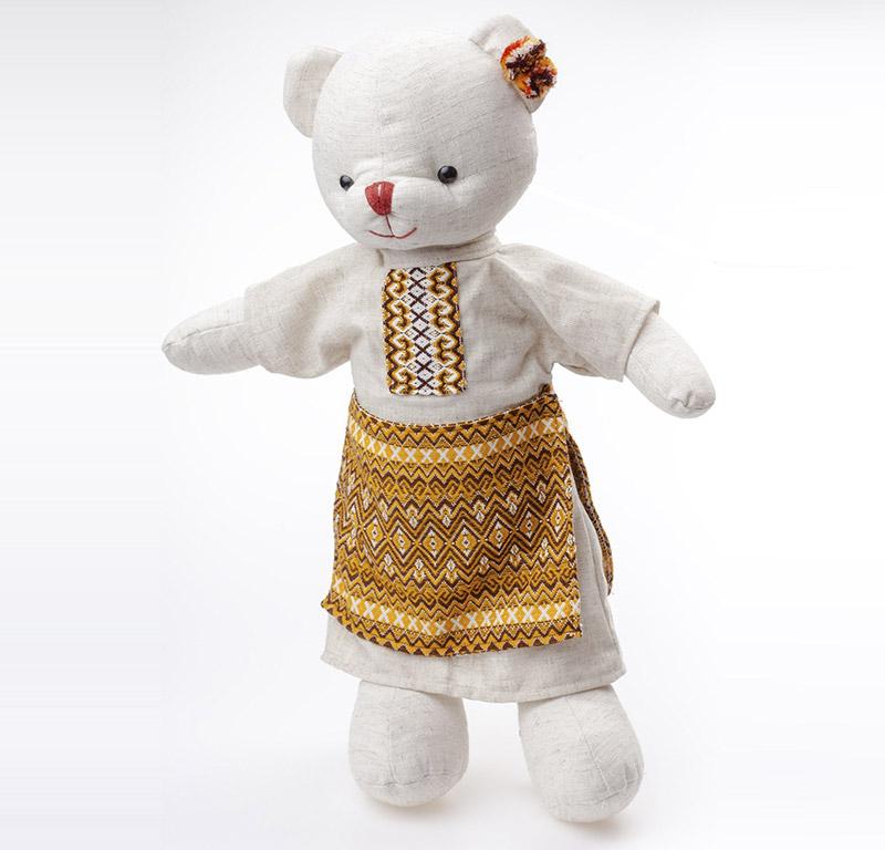 Мягкая игрушка Медвежонок Оринка Левеня