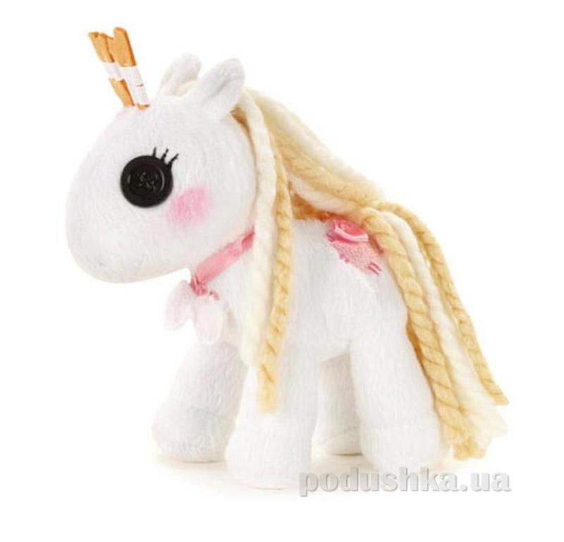 Мягкая игрушка MiniLalaloopsy из серии Мой плюшевый пони, Снежок 527725