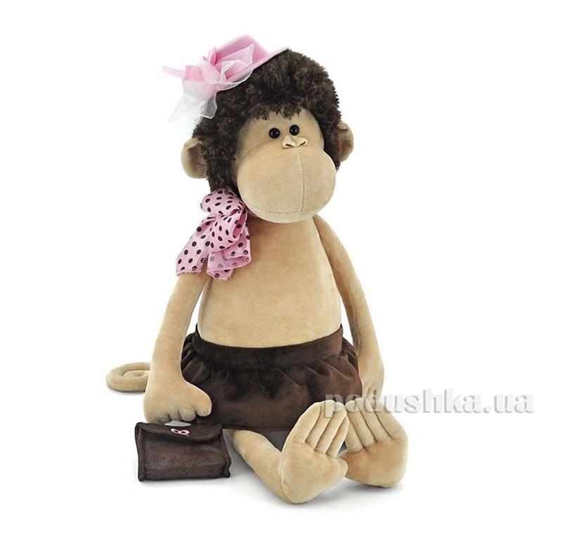 Мягкая игрушка Обезьяна в шляпе и с сумочкой 40 см Orange 5012/25