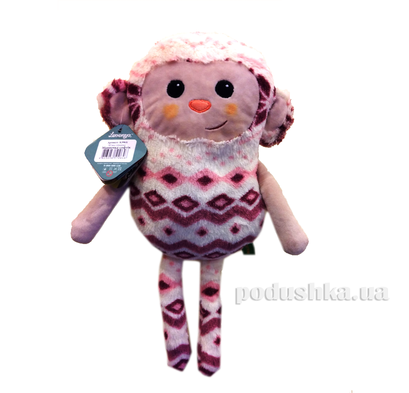 Мягкая игрушка Обезьянка-софик Левеня K396А