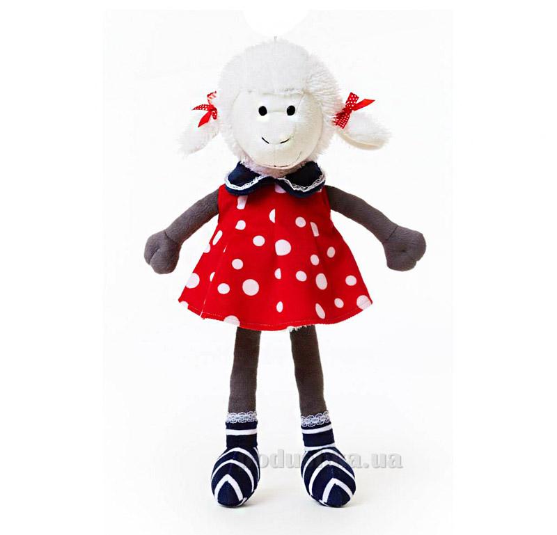 Мягкая игрушка Овечка Николь в одежде ТМ Левеня К348А-2