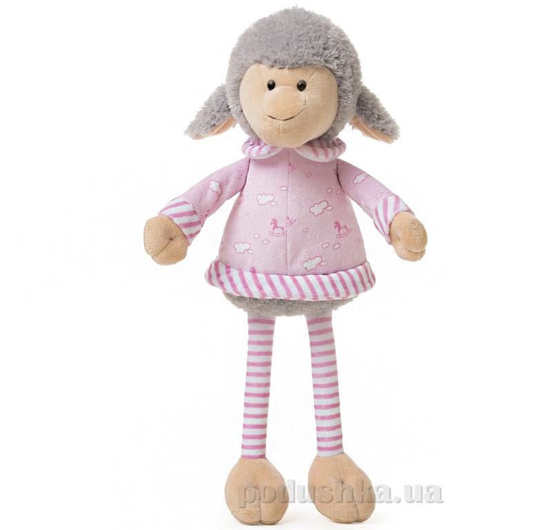 Мягкая игрушка Овечка Николь в одежде ТМ Левеня К348А-4
