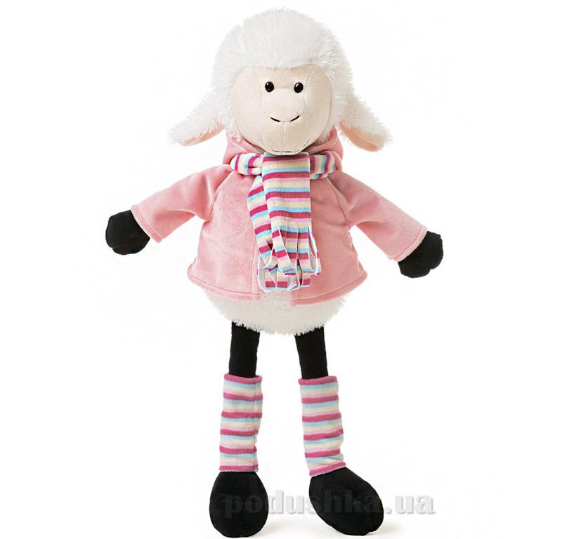 Мягкая игрушка Овечка Николь в одежде ТМ Левеня К348А-6
