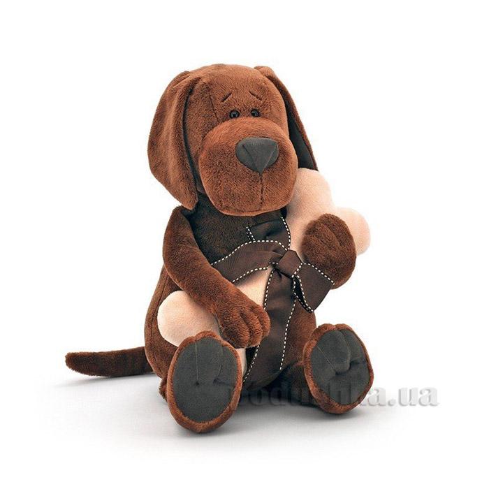 Мягкая игрушка Пес Барбоська с косточкой 30 см Orange AT-OS071/20
