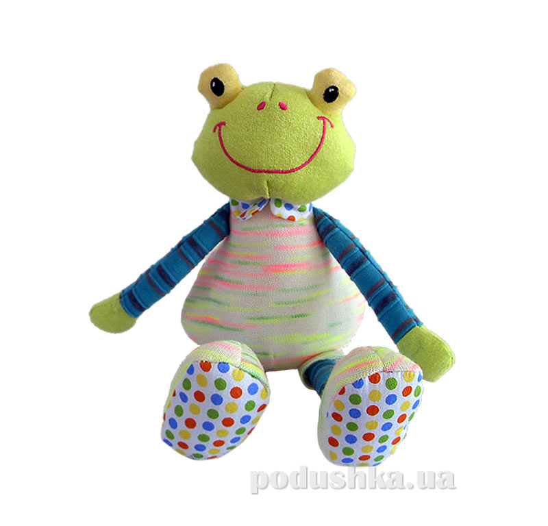 Мягкая игрушка семья Конфеттюшек лягушонок Квакки Family-Fun