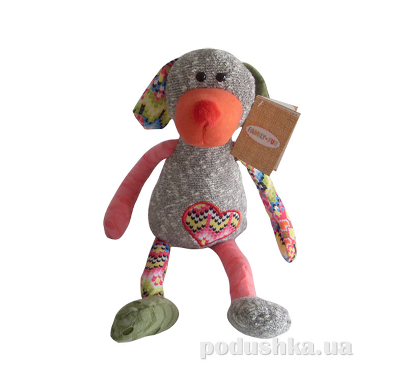 Мягкая игрушка семья Обнимашек собака Жюль Family-Fun