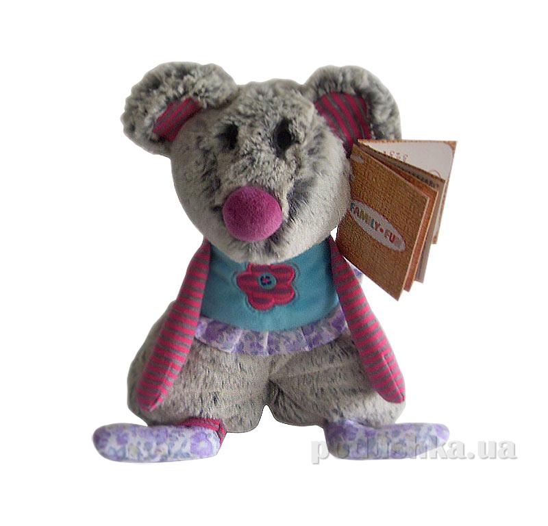 Мягкая игрушка семья Сплюшек мышонок Ронни Family-Fun