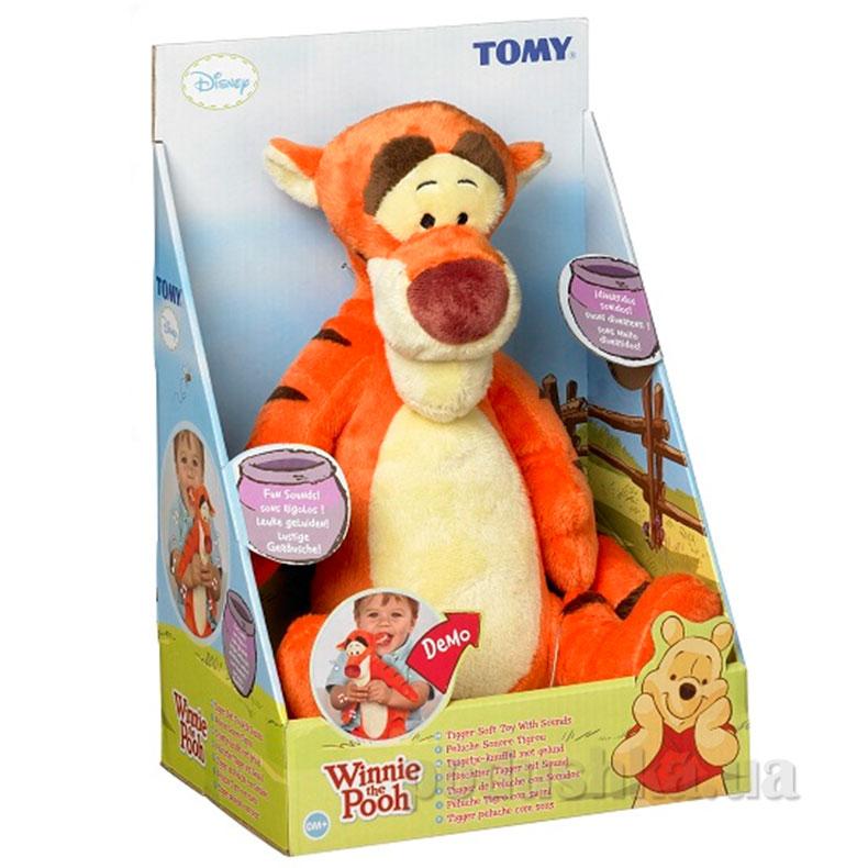 Мягкая игрушка со звуковыми эффектами Тигра-попрыгун T71947 Tomy