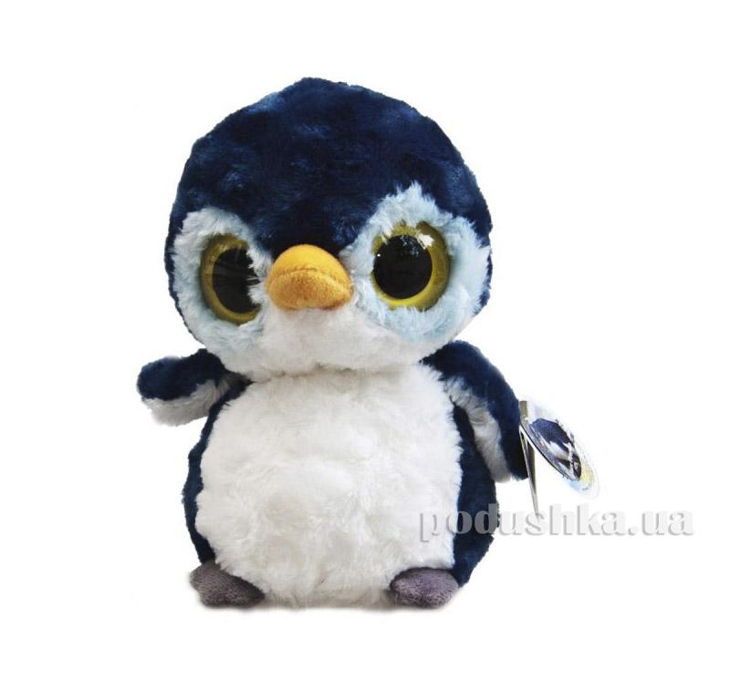 Мягкая игрушка YooHoo&Friends Пингвин Черный 12 см Aurora 80858A
