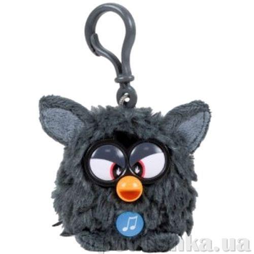 Мягкая игрушка-брелок Ферби 8 см черный