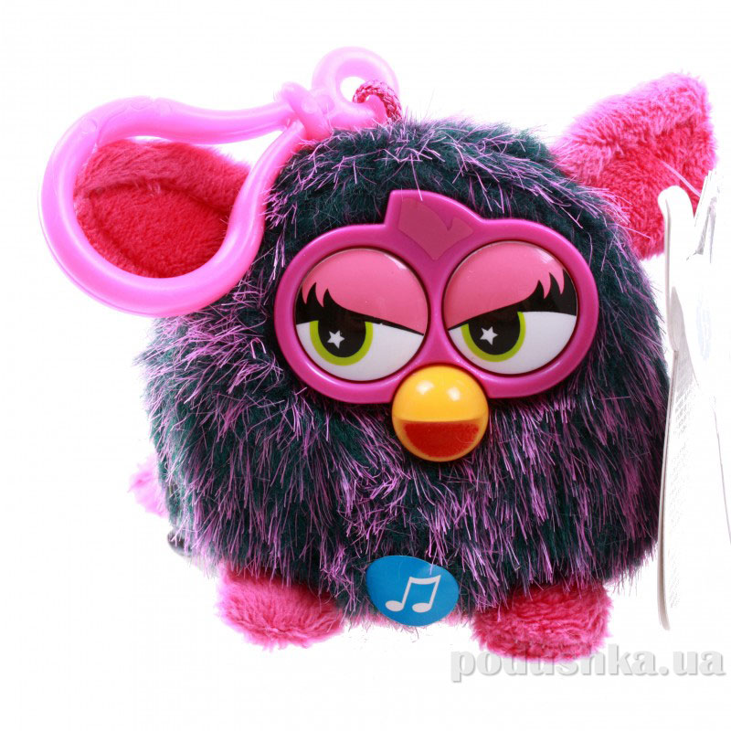 Мягкая игрушка-брелок Ферби 8 см фиолетовый