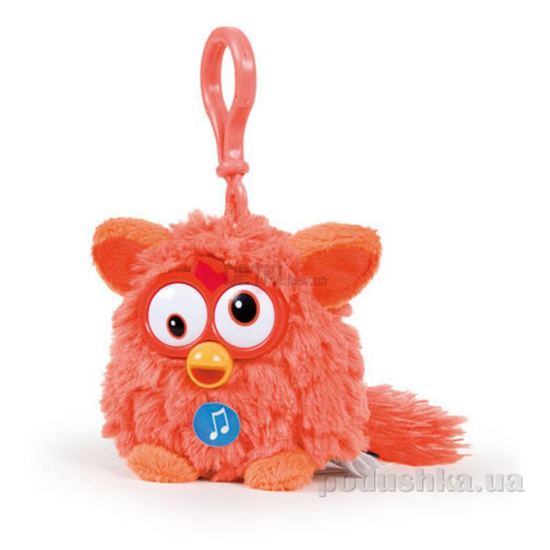 Мягкая игрушка-брелок Ферби 8 см красный