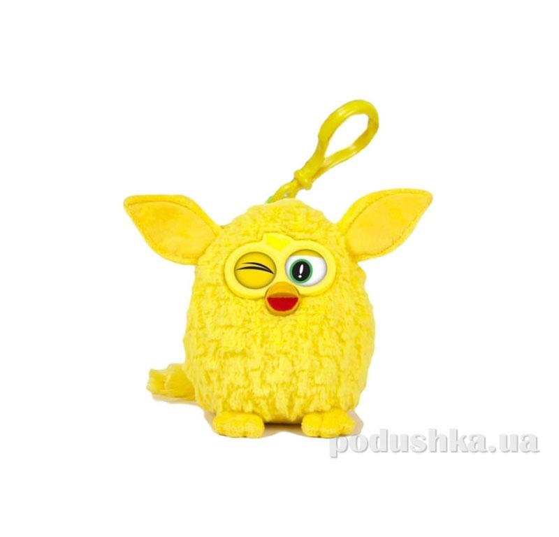 Мягкая игрушка-брелок Ферби 8 см желтый