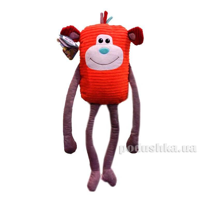 Мягкая игрушка-подушка Обезьяна Джо Левеня K395С