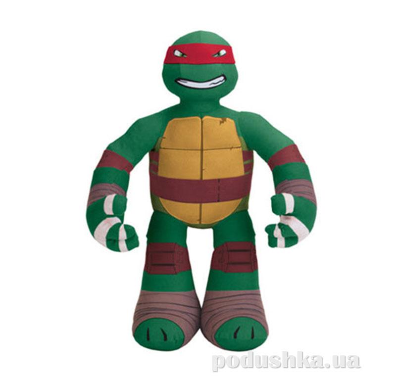 Мягкая интерактивная игрушка серии Черепашки-Ниндзя - Рафаэль (озвуч., 39 см) 95514