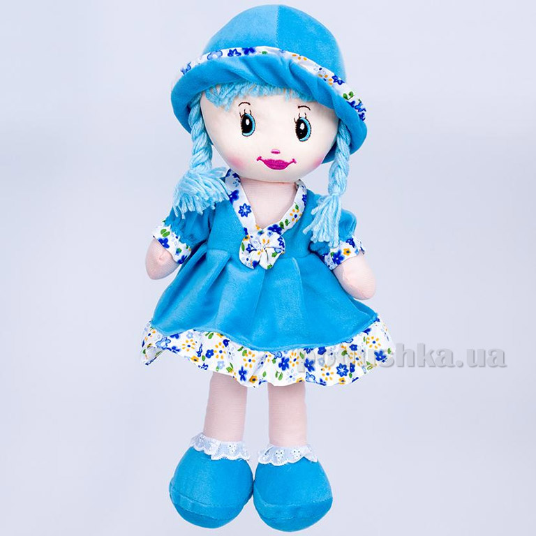 Мягкая кукла Кристина ТМ Копица 24772 голубая