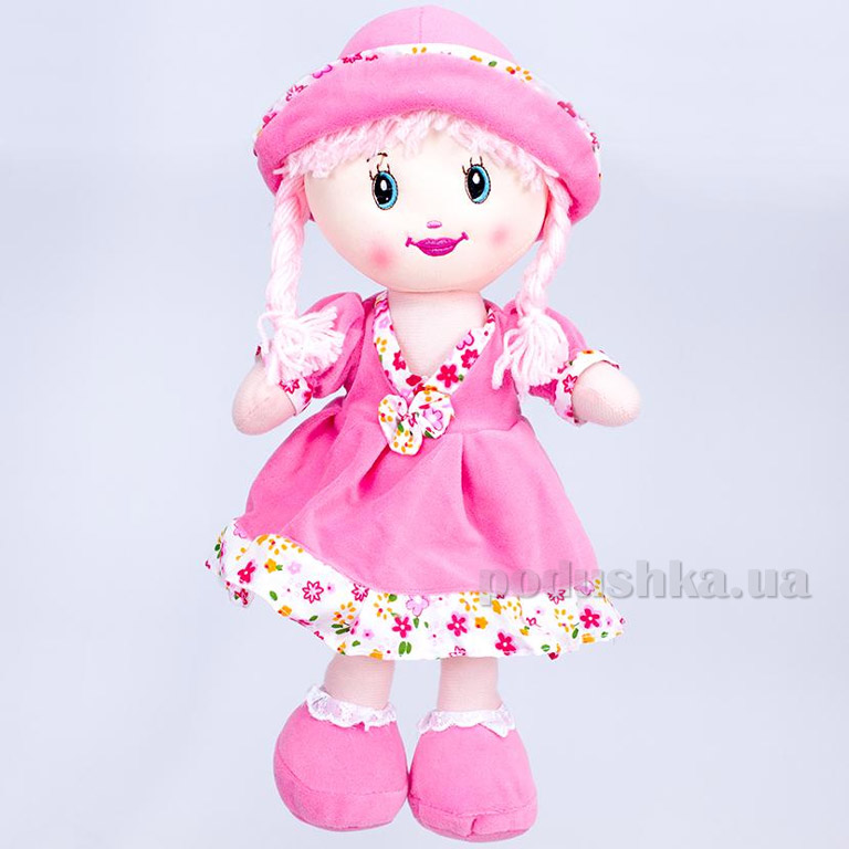 Мягкая кукла Кристина ТМ Копица 24772 розовая