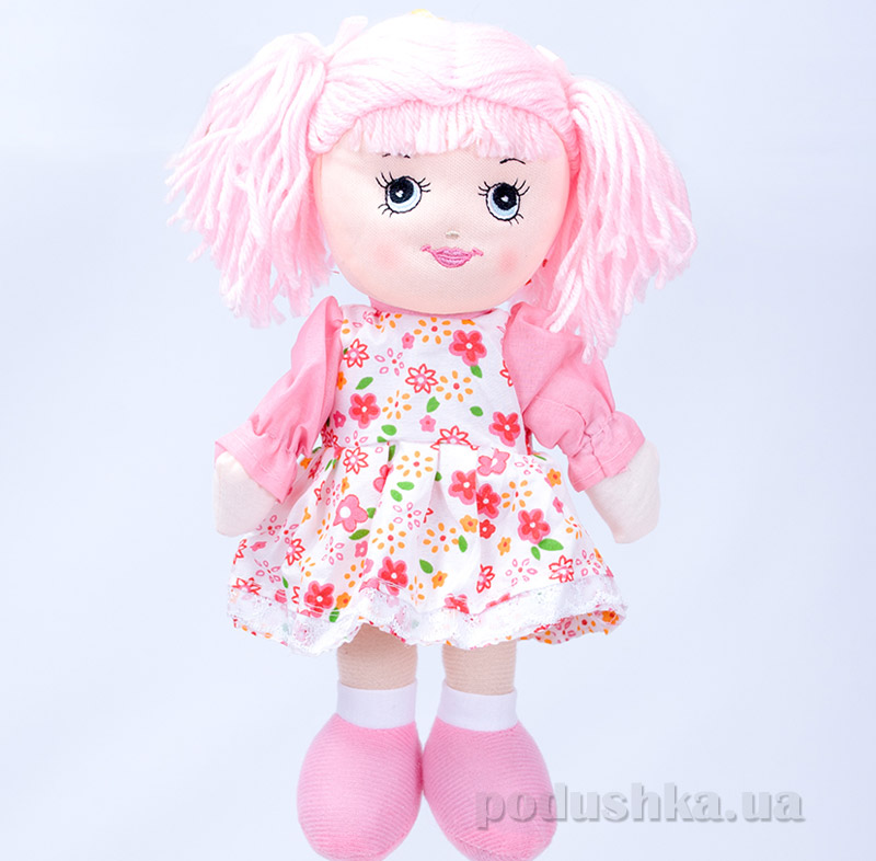 Мягкая кукла Маринка ТМ Копица 24776 розовая