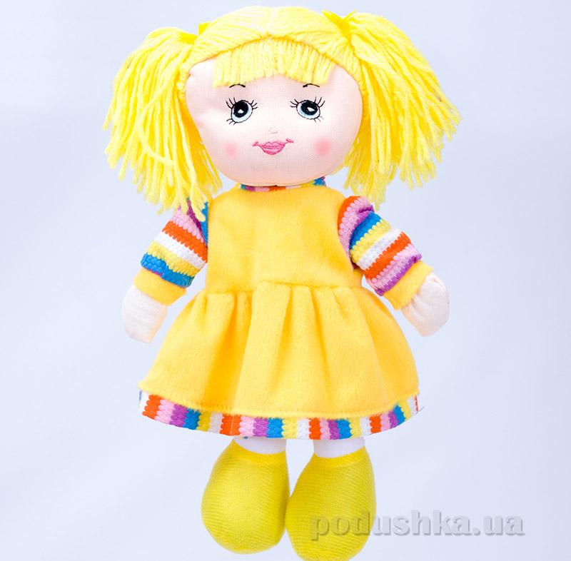 Мягкая кукла Маринка ТМ Копица 24776 желтая