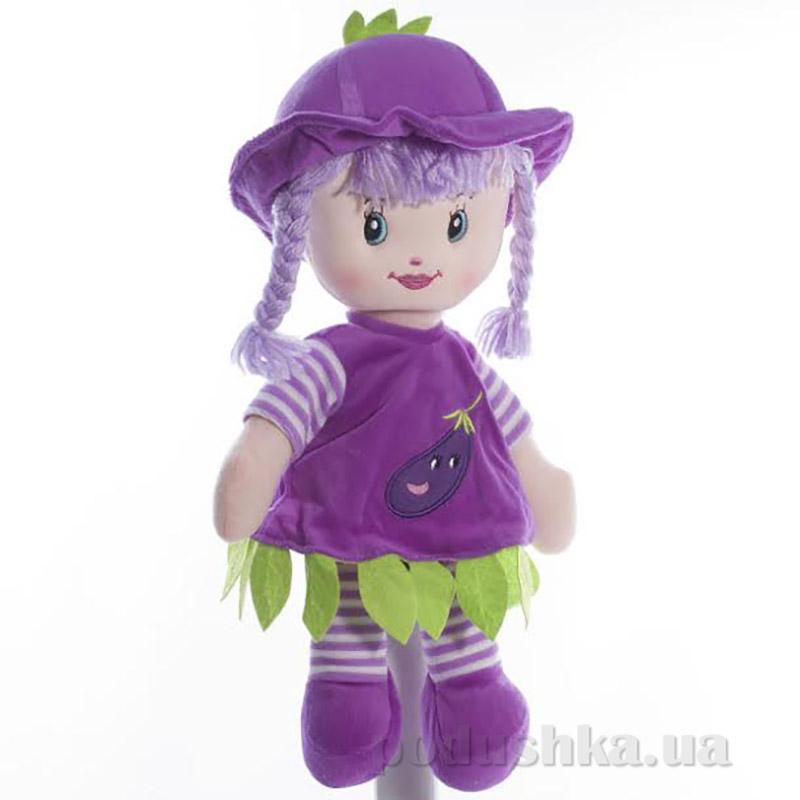 Мягкая кукла Полинка ТМ Копица 22075-1 фиолетовая