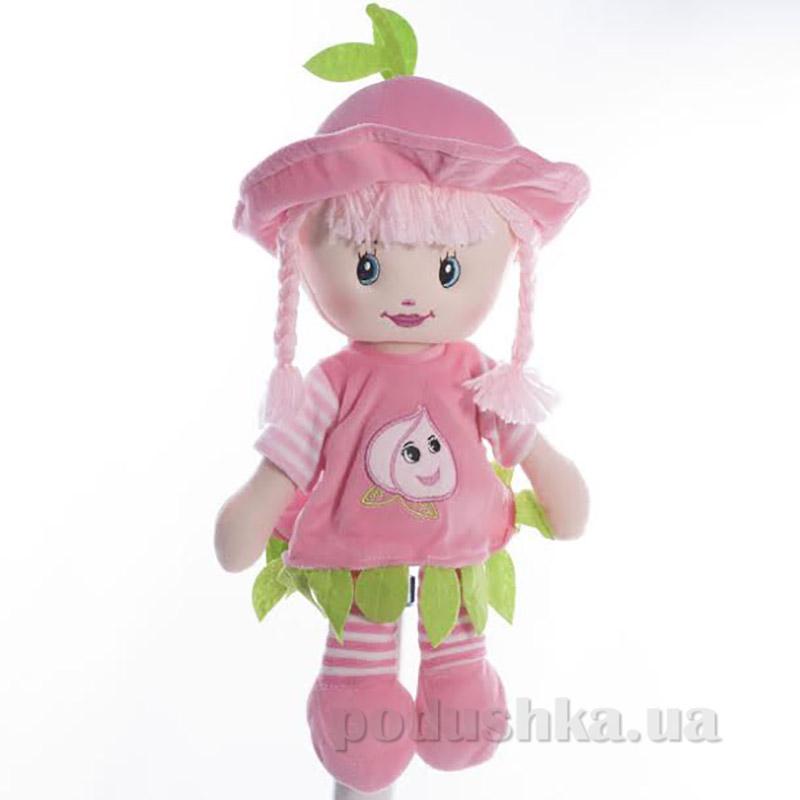 Мягкая кукла Полинка ТМ Копица 22075-1 розовая