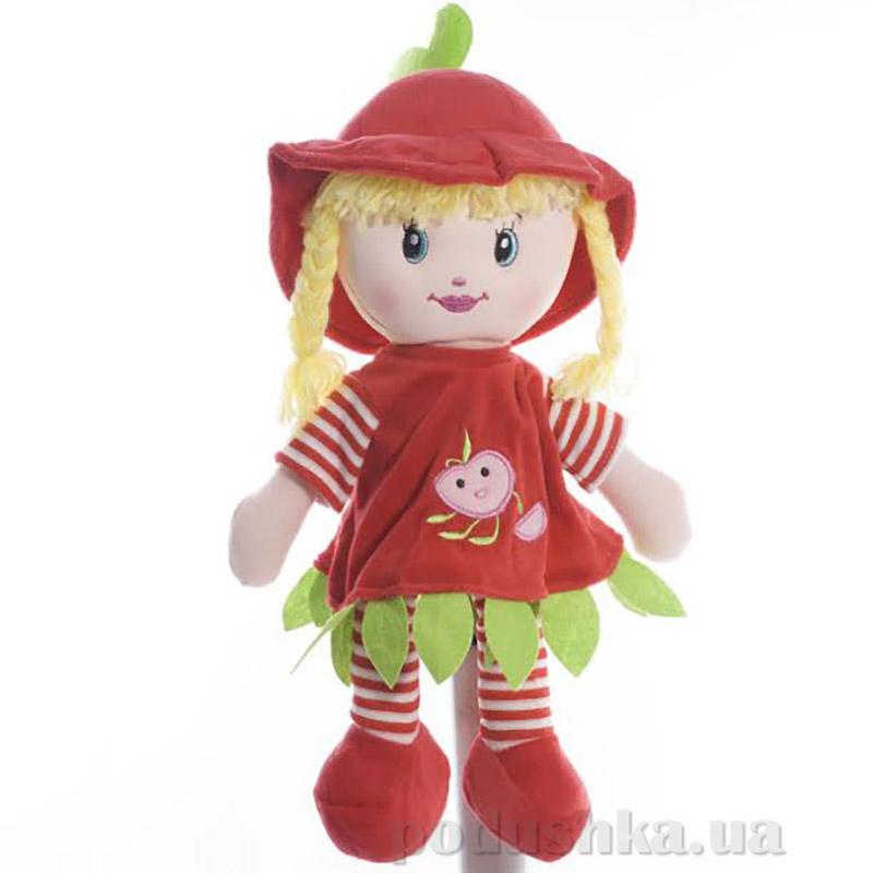 Мягкая кукла Полинка ТМ Копица 22075-1 зеленая