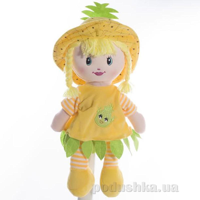 Мягкая кукла Полинка ТМ Копица 22075-1 желтая