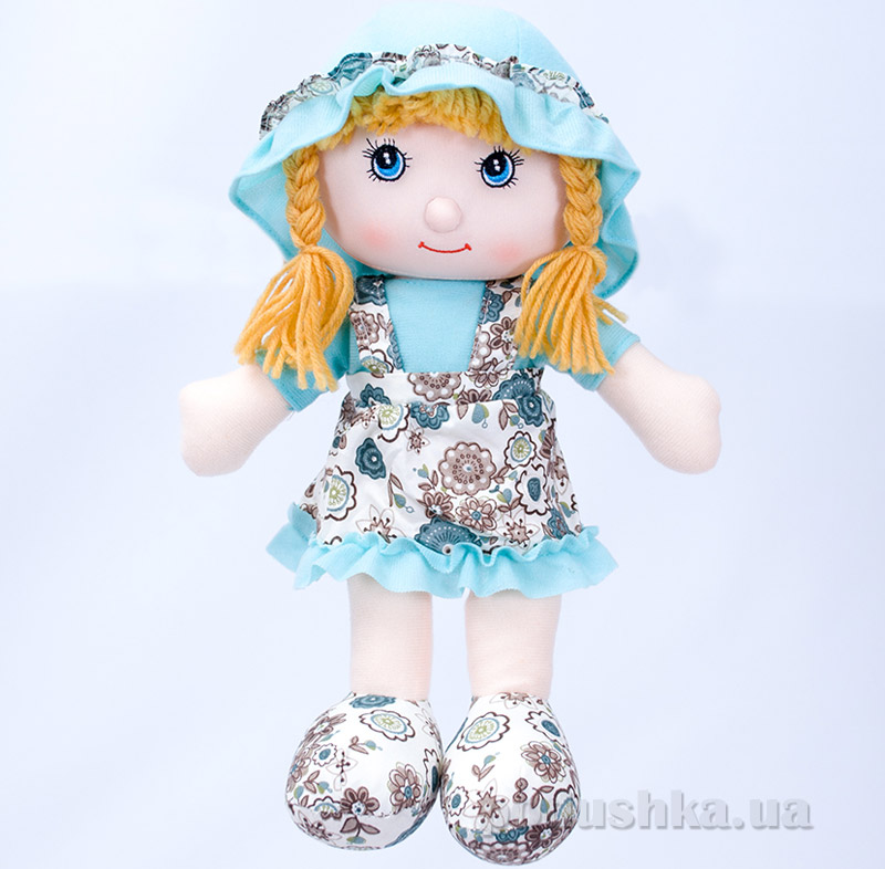 Мягкая кукла Соня ТМ Копица 24775 голубая