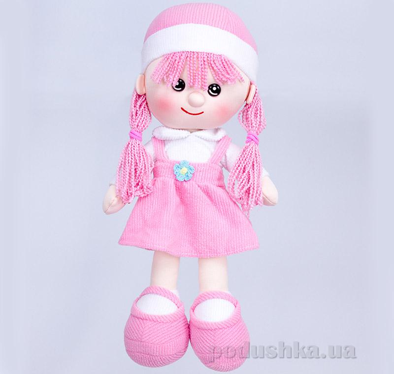 Мягкая кукла Алинка ТМ Копица 22075-3 розовая   Копица