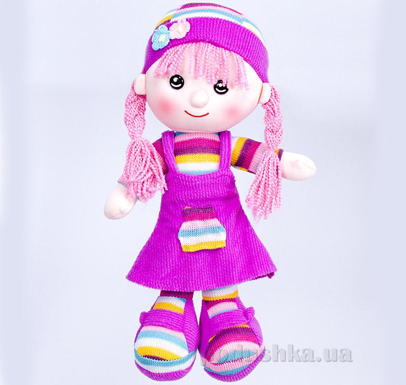Мягкая кукла Шурочка ТМ Копица 22075 фуксия   Копица
