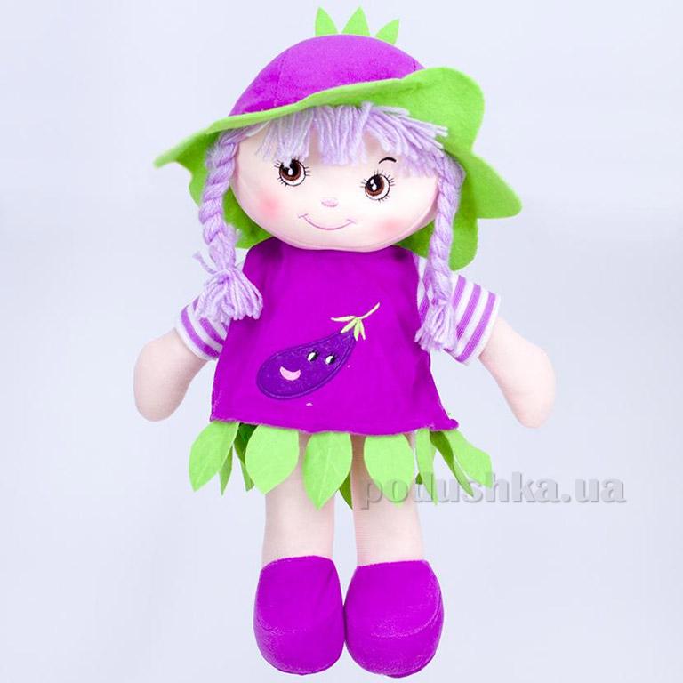 Мягкая кукла Юлька ТМ Копица 24776-1 фиолетовая