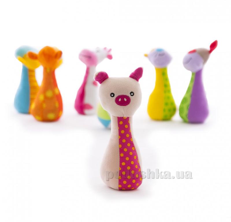 Мягкий боулинг Biba Toys Дружная ферма 544BS
