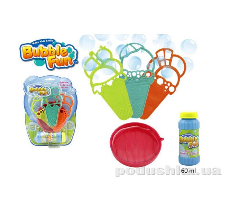 Мыльные пузыри Bubble Fun Мороженое