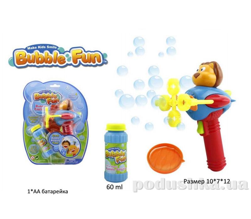 Мыльные пузыри Bubble Fun Самолет со зверьком