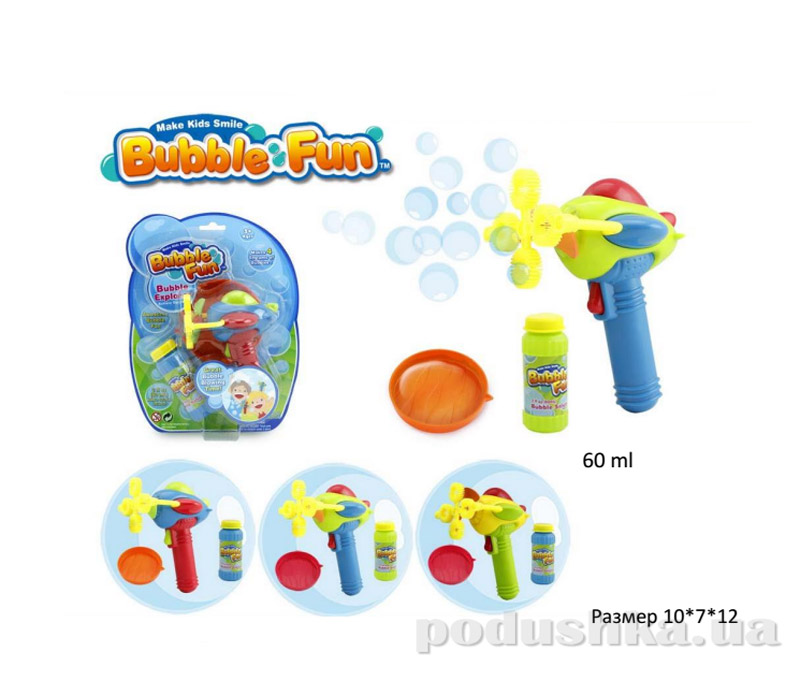 Мыльные пузыри Bubble Fun Вентилятор