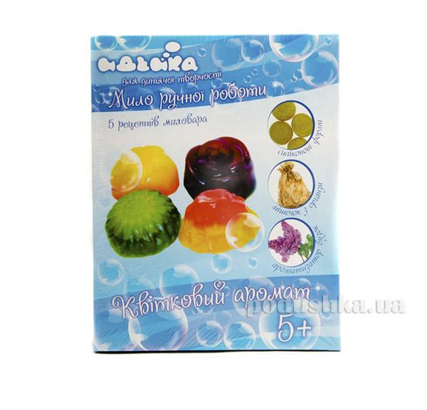 Мыло ручной работы Цветочный аромат Идейка 06094106