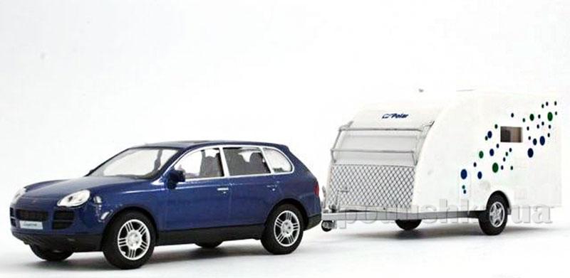 Набор 1:43 Автомобиль Porsche Cayenne S с прицепом Polar Caravan 400 Cararama