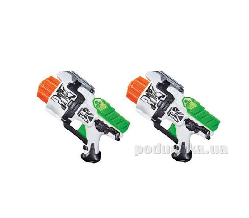 Набор: 2 игрушечных бластера Турбо Пауэр + 16 мягких дротиков