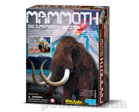 Набор 4M археологические раскопки Мамонт