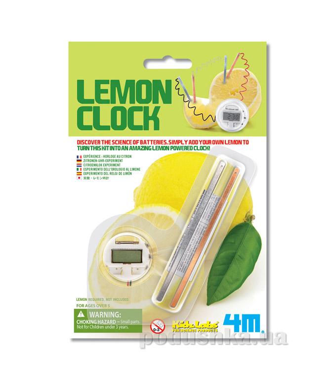 Набор 4M Часы из лимона из серии Детская лаборатория