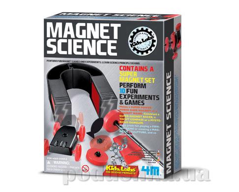 Набор 4M Опыты с магнитами из серии Детская лаборатория