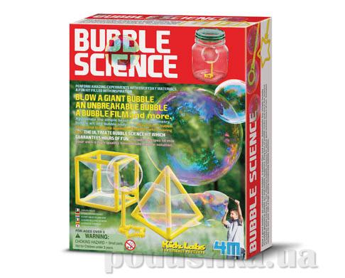 Набор 4M Опыты с мыльными пузырями из серии Детская лаборатория