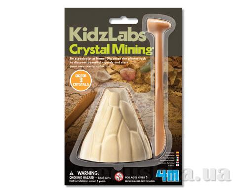 Набор 4M Раскопка кристаллов из серии Детская лаборатория-мини