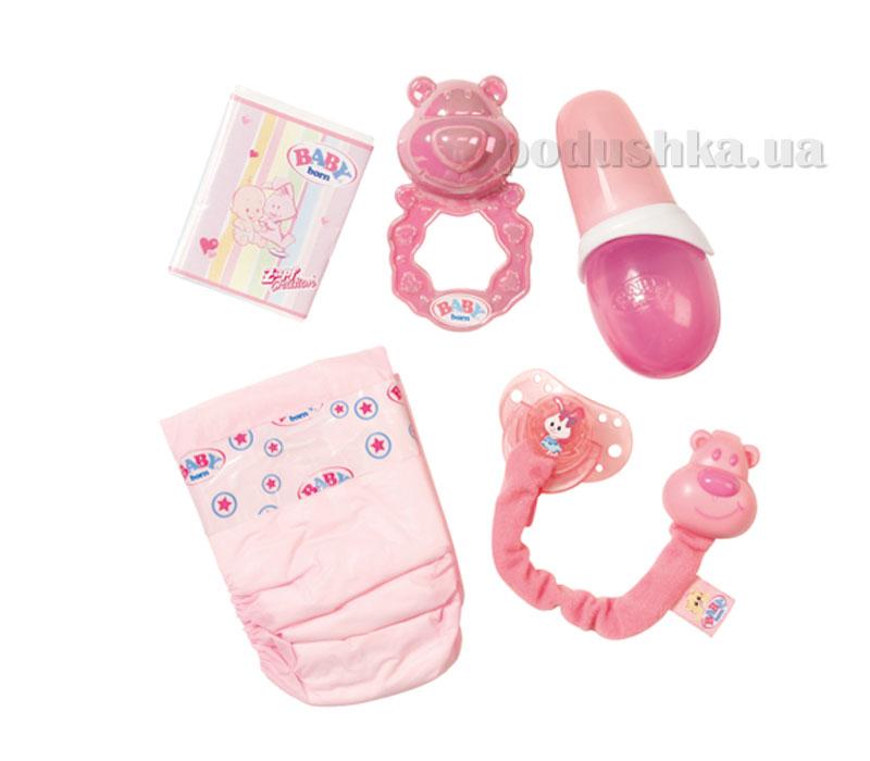 Набор аксессуаров для куклы Baby Born Нежный уход 817698