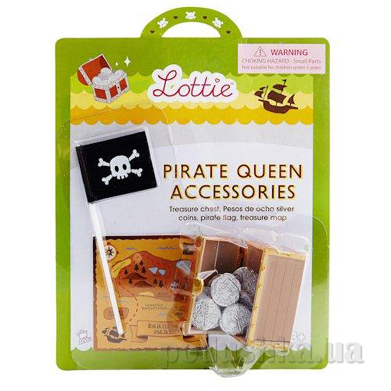 Набор аксессуаров Королева Пиратов LT033 Lottie