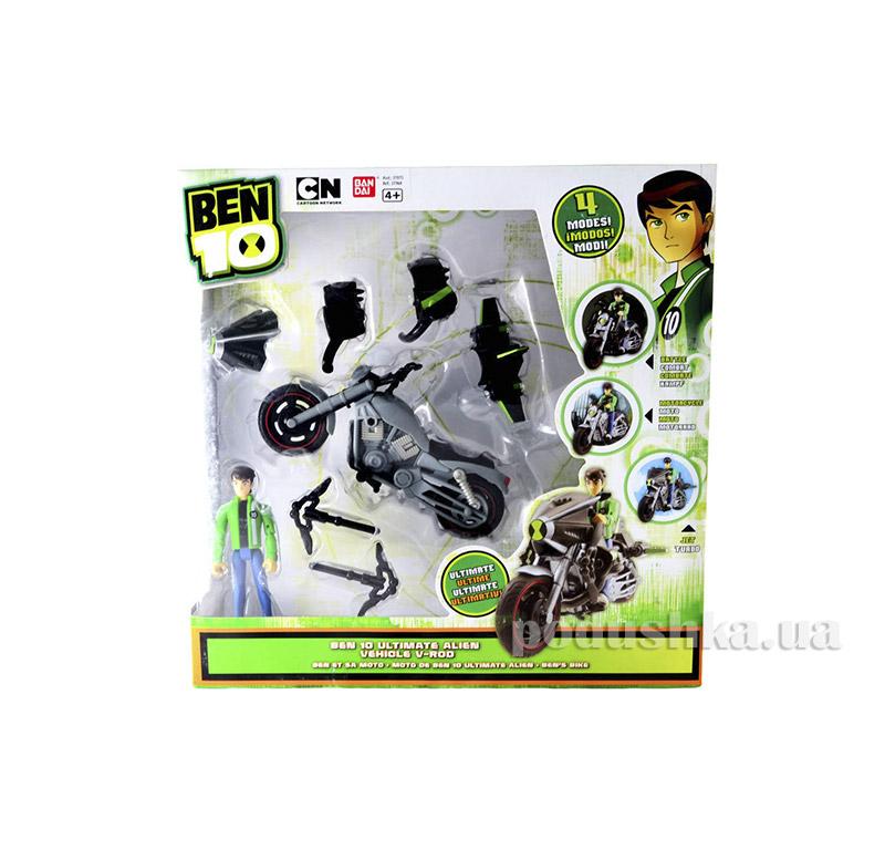 Набор Бен 10 Ultimate Alien Vehicle V-ROD Ben 10 37975-2