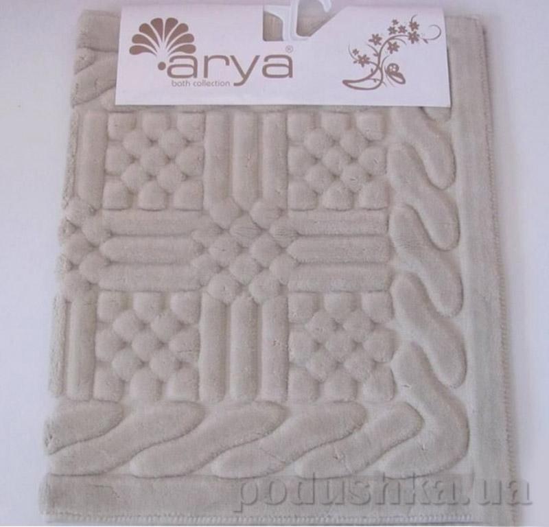 Набор бежевых ковриков для ванной комнаты Berceste Arya 1380036
