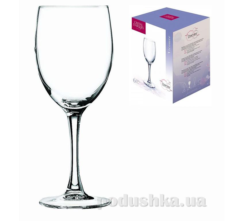 Набор бокалов Cristal D Arques Diamax Vocomte G5149