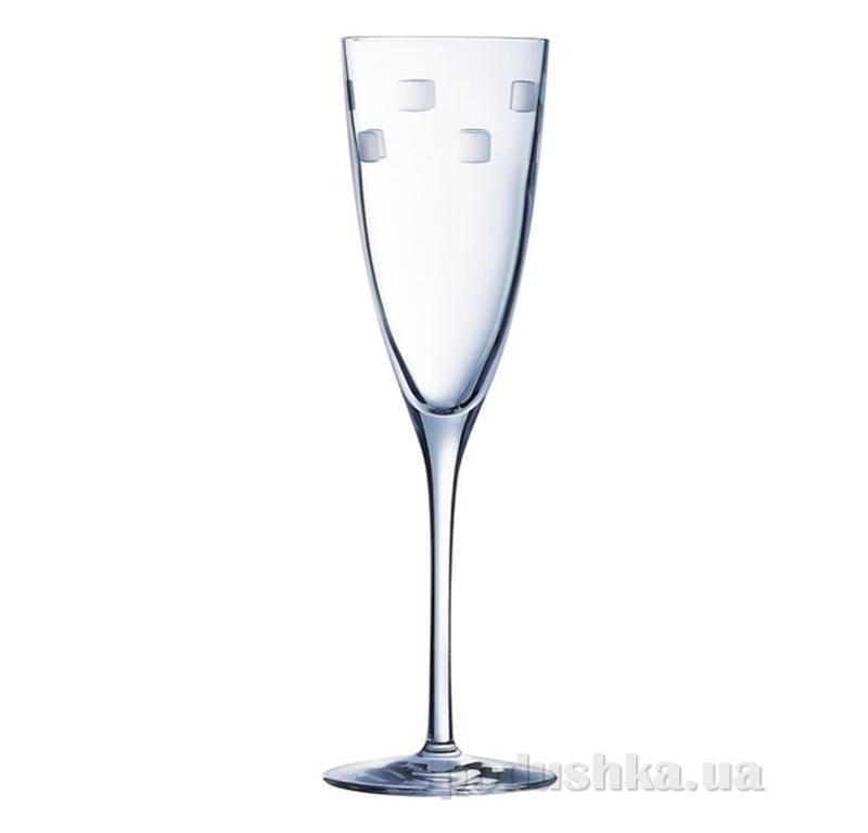 Набор бокалов для шампанского Cristal D Arques Diamax Cubic H4307